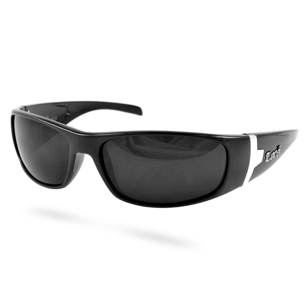 shades of hot sale new arrivals Black Locs Wrap Around Sunglasses