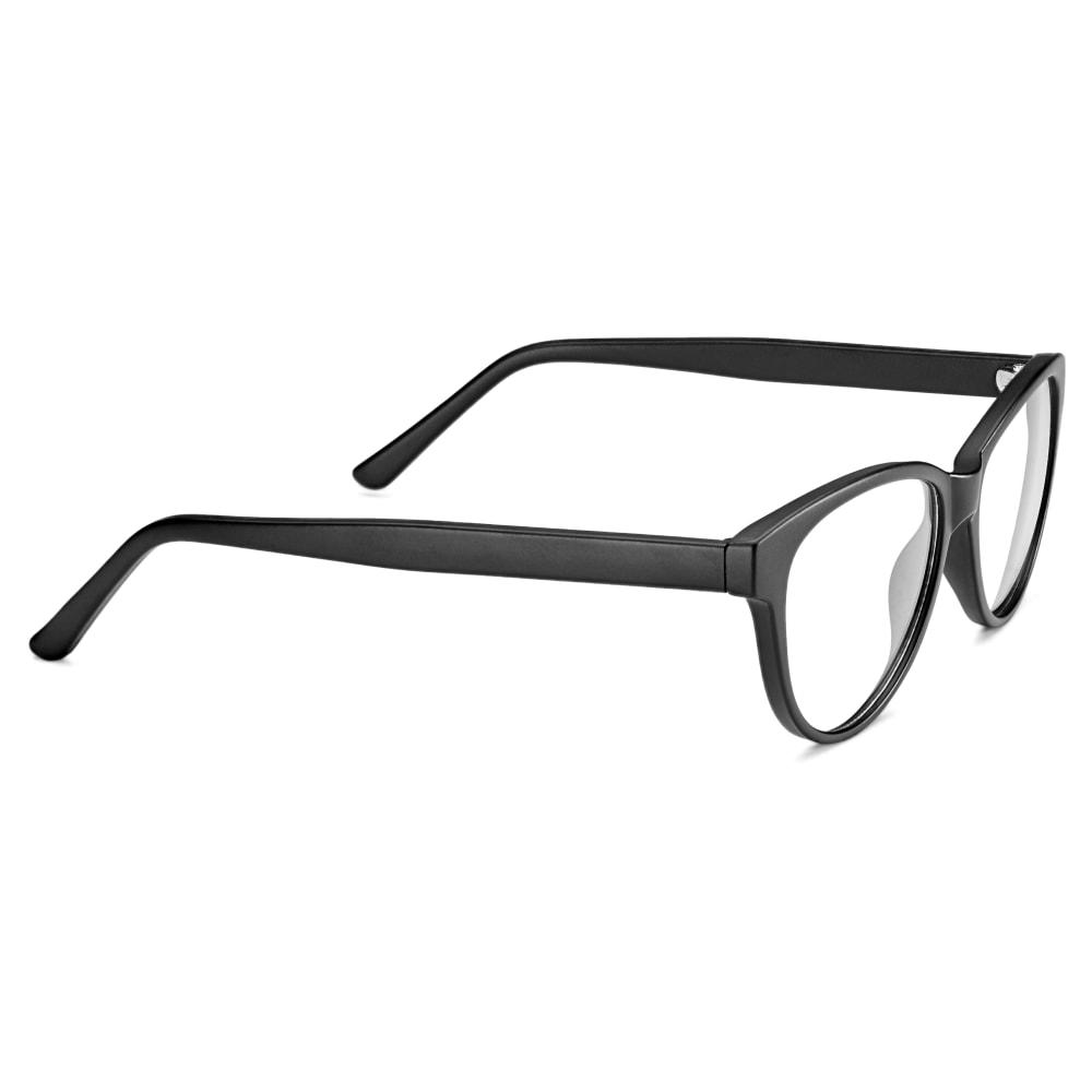 glasögon glas eller plast