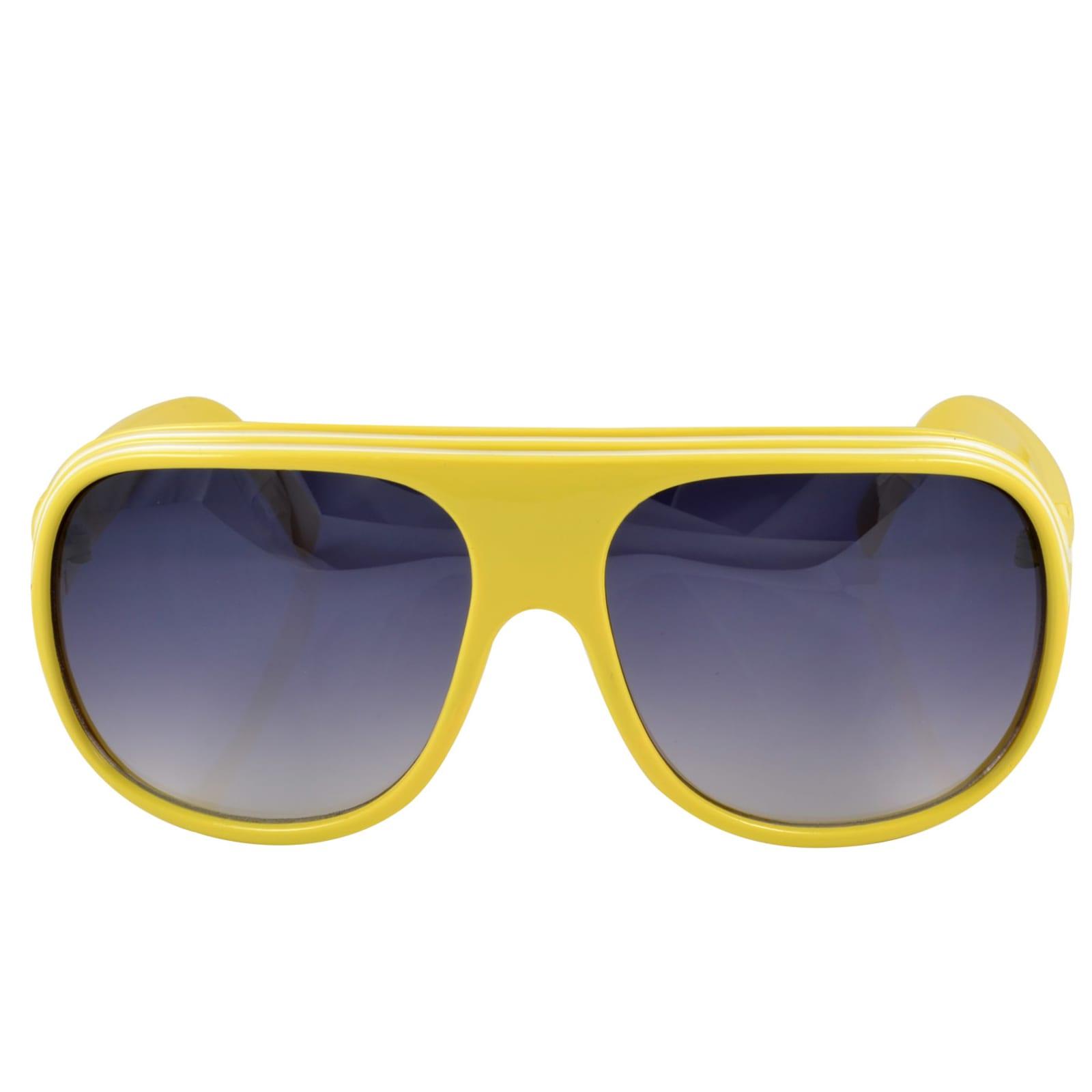 7554fda46 Žlté slnečné okuliare Millionaire Style   Na sklade!
