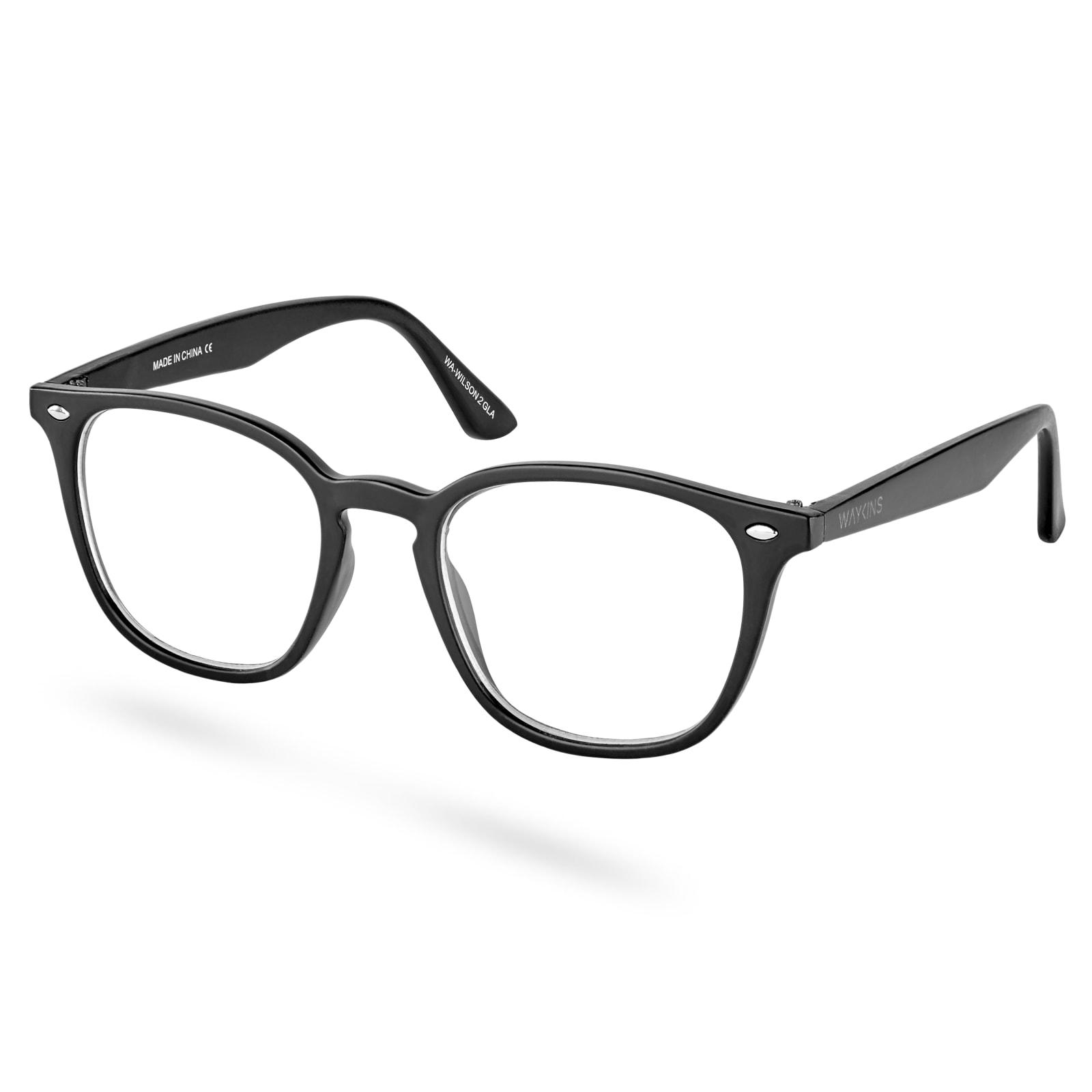 256d16d5a9 Gafas retro con lentes transparentes Wilson | ¡En stock! | Waykins
