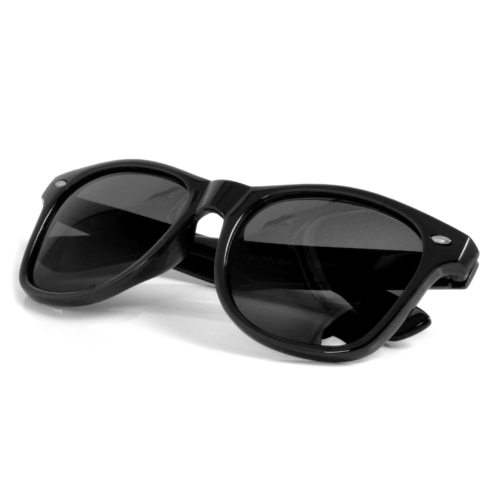 2f3421a44 Čierne Retro polarizačné slnečné okuliare   Na sklade!   EverShade
