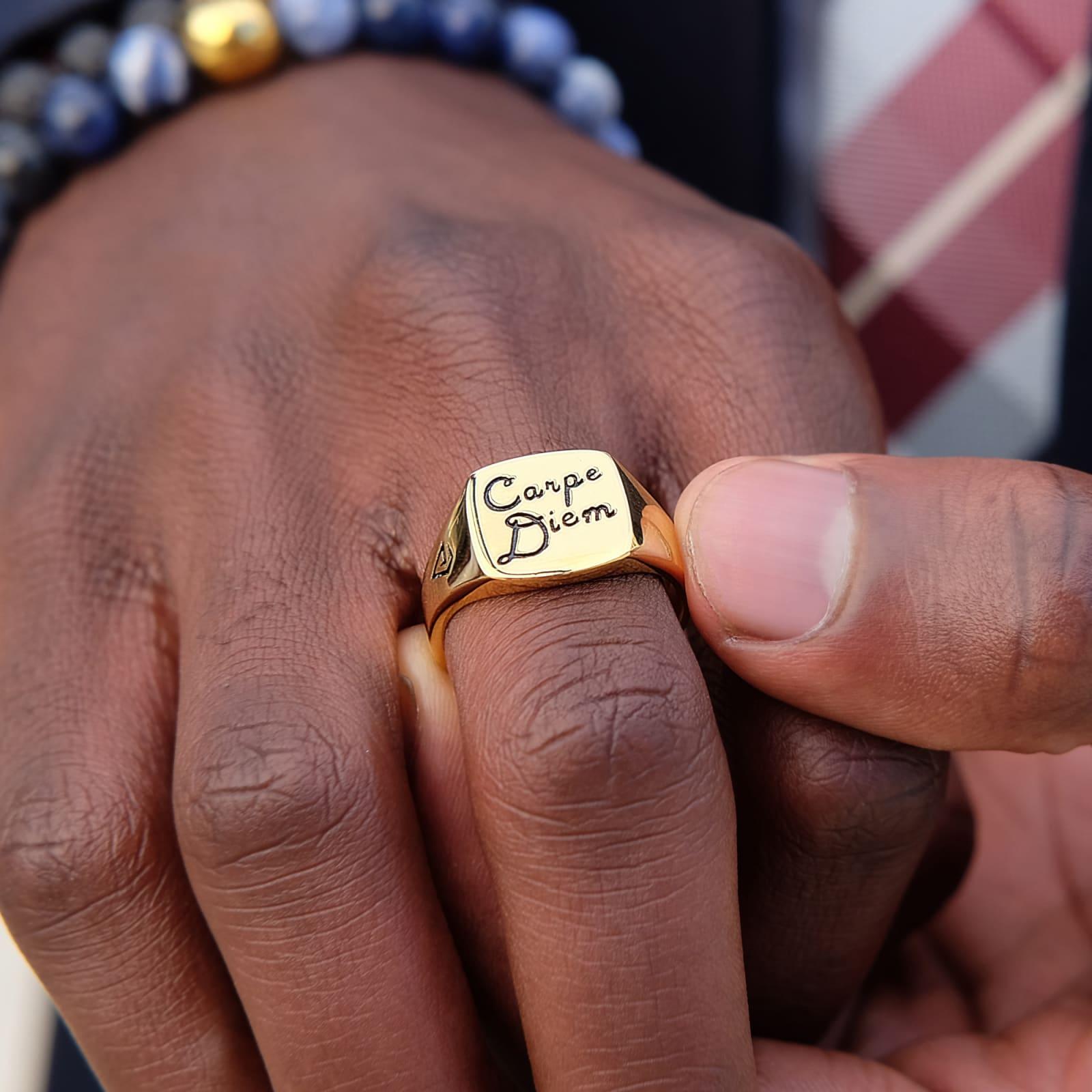 e3253e1e553 Carpe Diem 925s Guldring   Northern Jewelry   Fri fragt