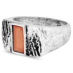 91587a4124ec11 Koraalkleurige Maloney Ring | Moody Mason | Op voorraad