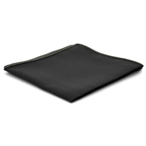 Zwarte Basic Vierkante Pochet