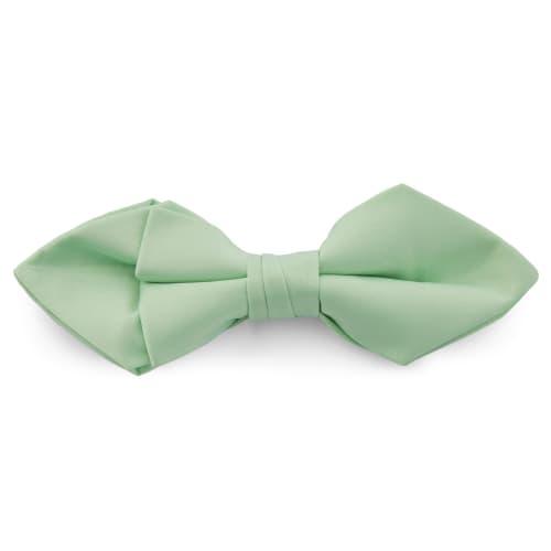 acheter pas cher grandes variétés caractéristiques exceptionnelles Noeud papillon classique en pointes vert menthe
