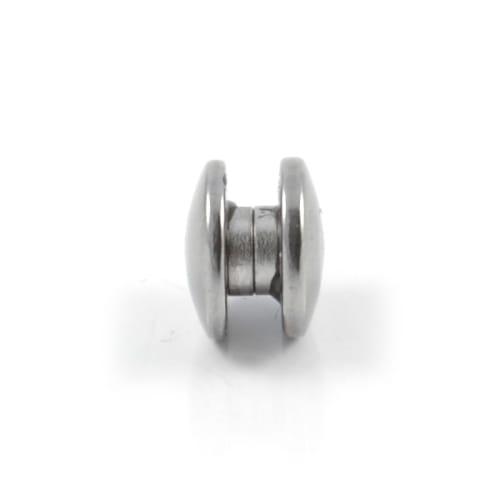 de gros texture nette double coupon Boucle d'oreille magnétique - 10 mm