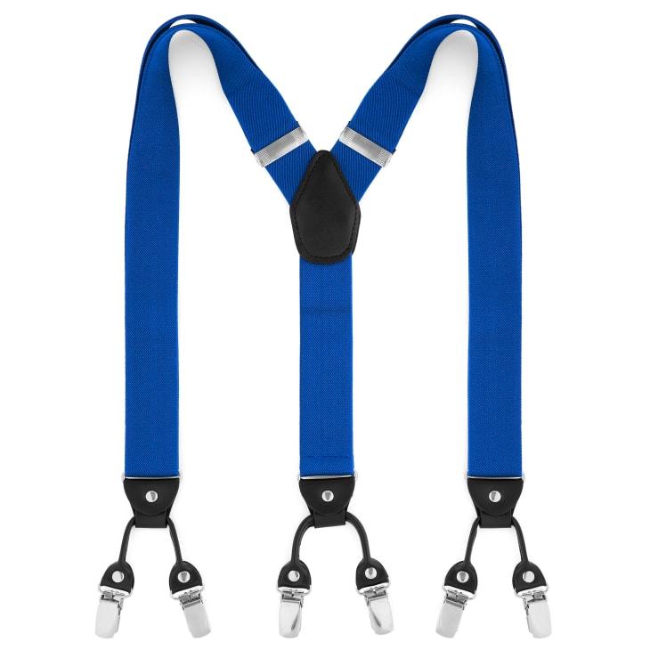 pour toute la famille taille 7 grand Prix Bretelles larges à pinces - couleur bleue