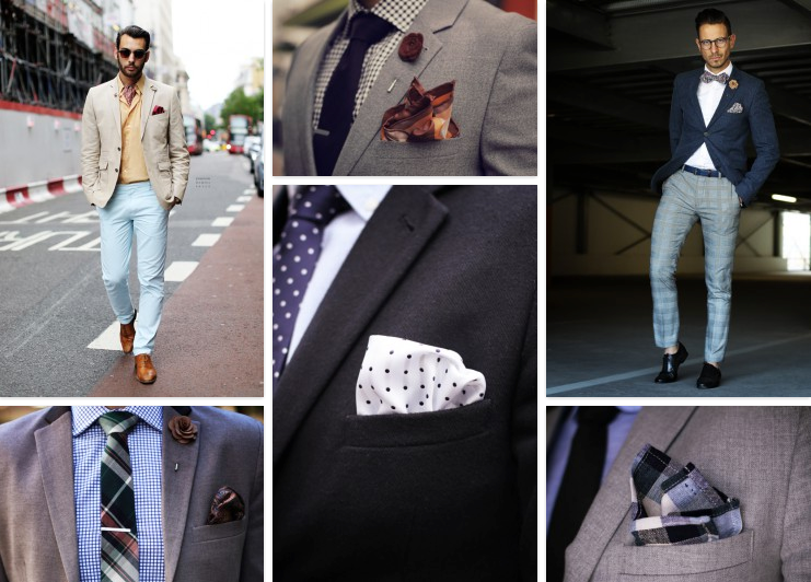 pocket square inspiration