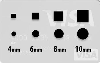 size guide for stud earrings for men