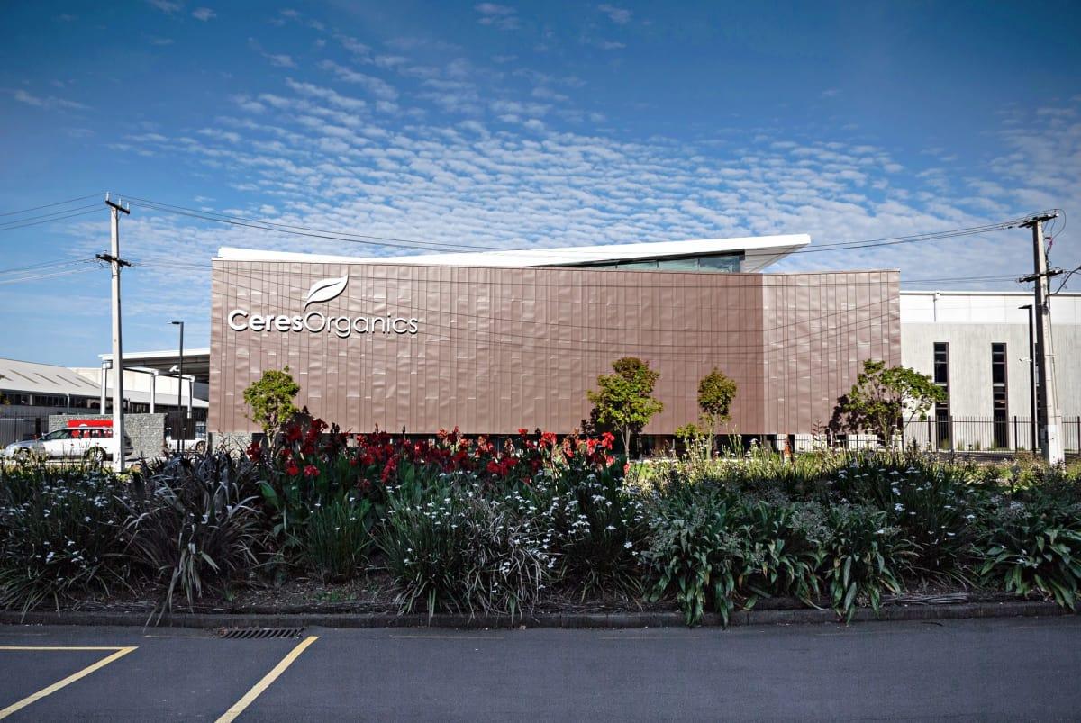 Ceres Organics building