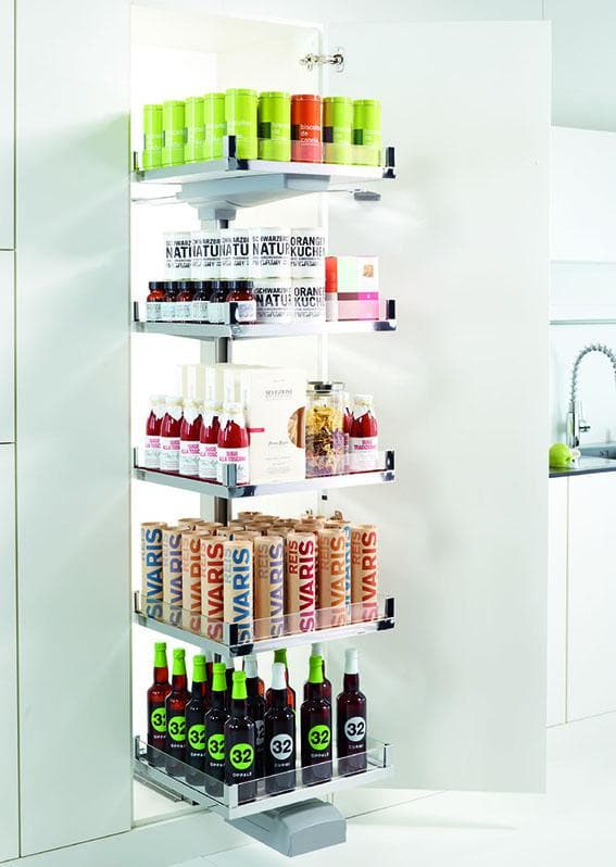 The Convoy Family by Häfele – Pull Out Pantry Solutions
