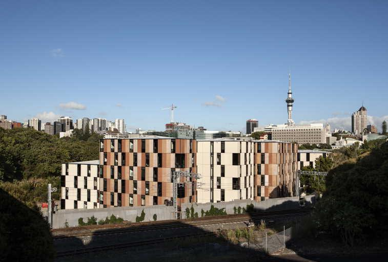 Carlaw Park Student Village redevelopment by Mcdougall Reidy and Haydn & Rollett