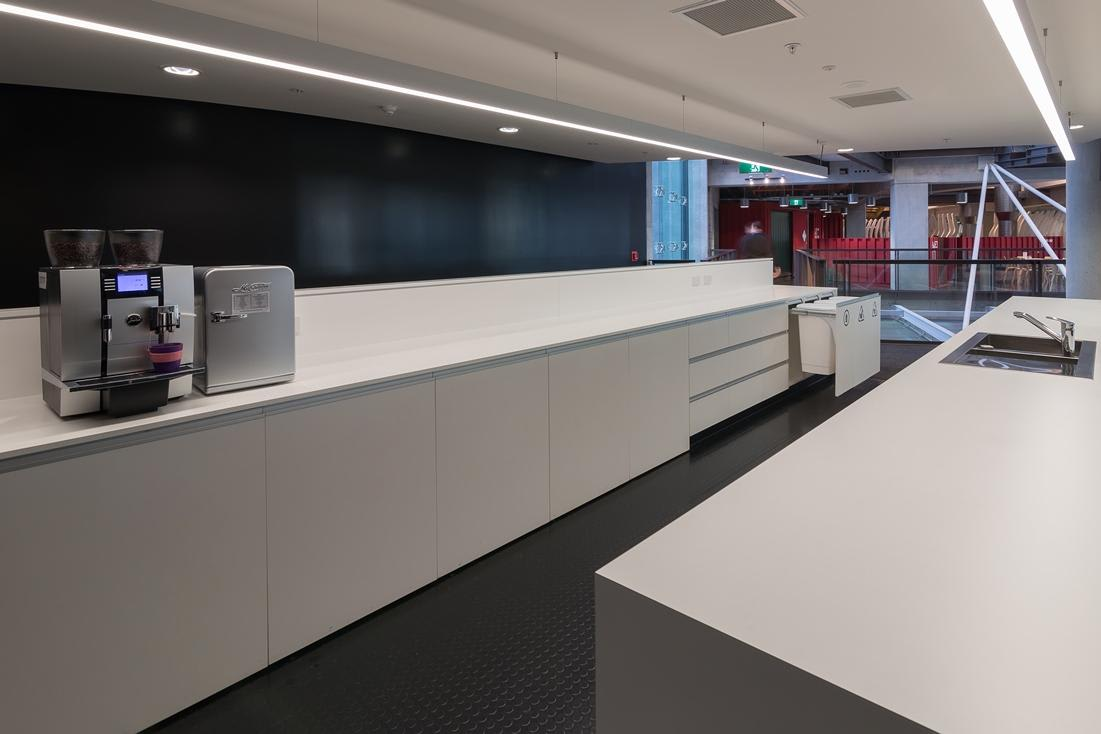 Commercial Kitchen featuring 50L Hideaway Bins