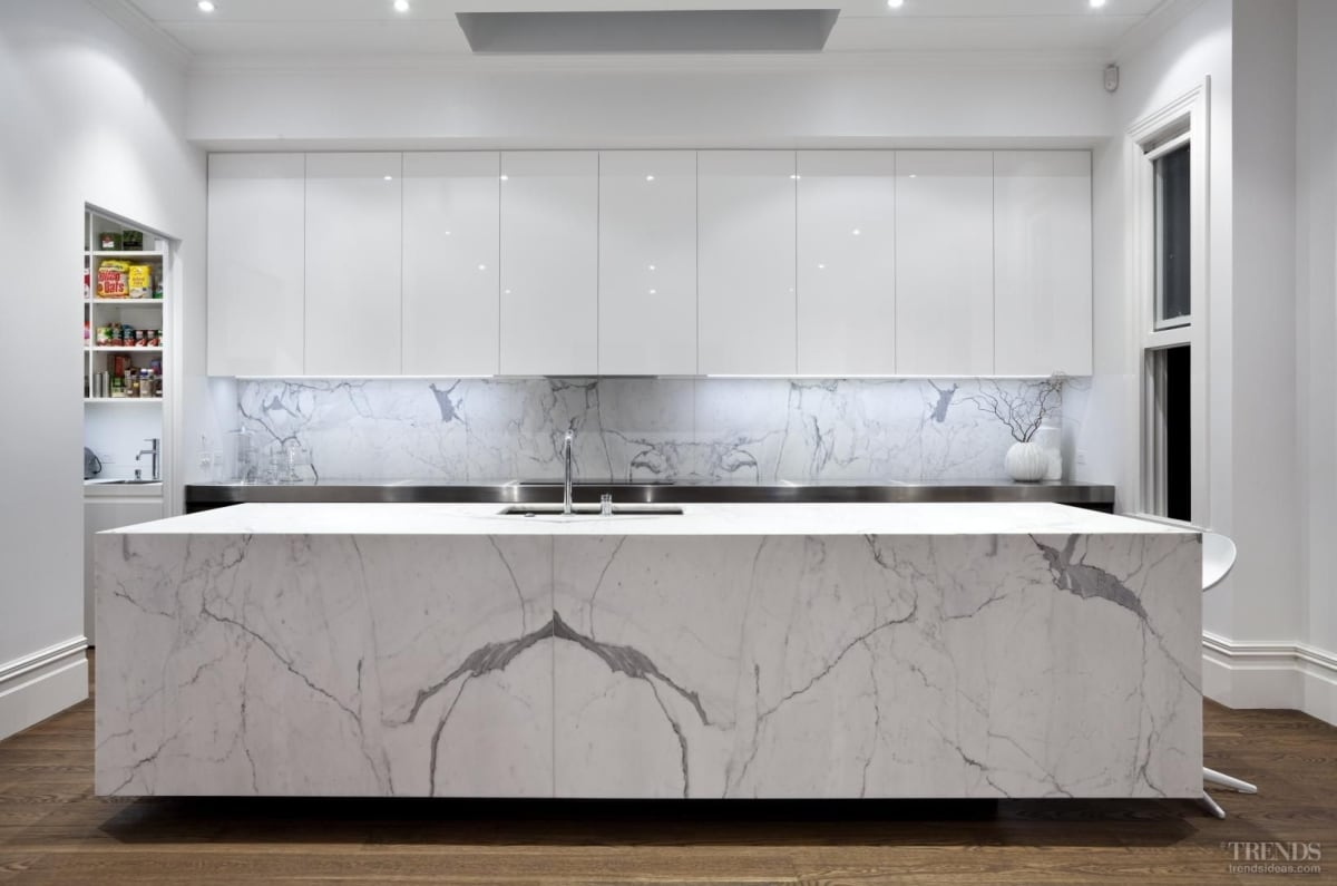 Modern classic kitchen designed by Morgan Cronin