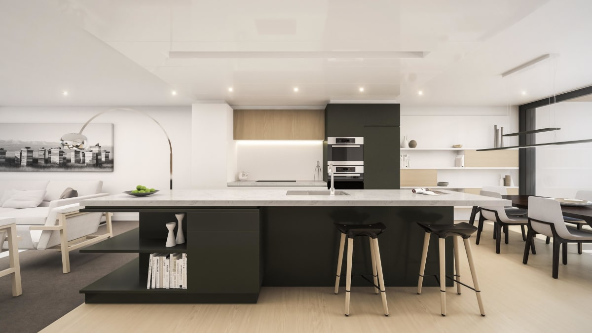 132 Halsey - Kitchen