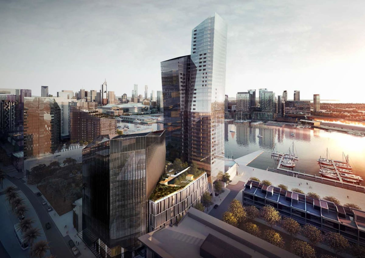 Marina Tower, Docklands, Melbourne by DKO Architecture