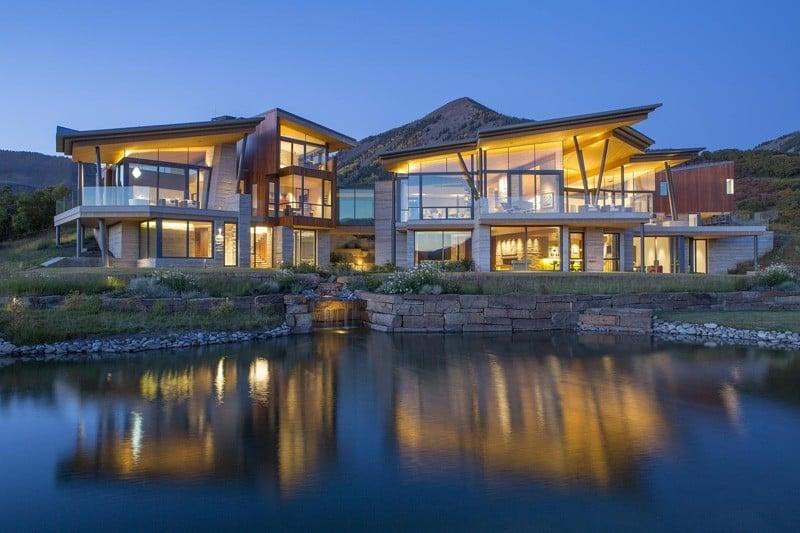 Colorado Cliff-side Home