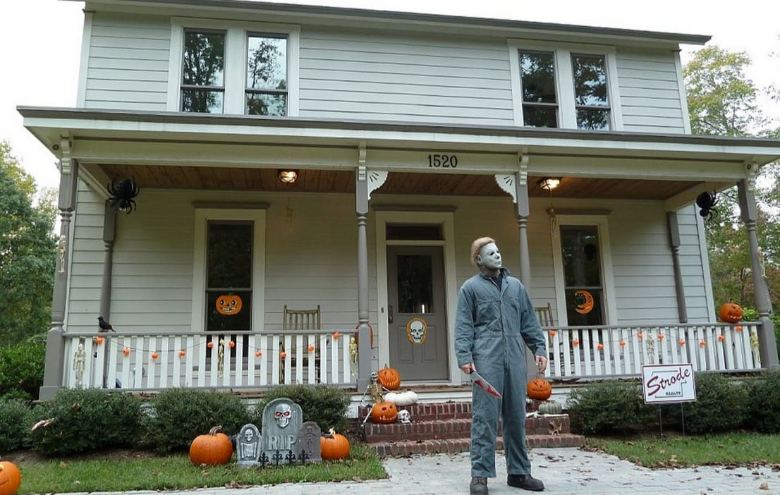 The Myers home from 'Halloween'