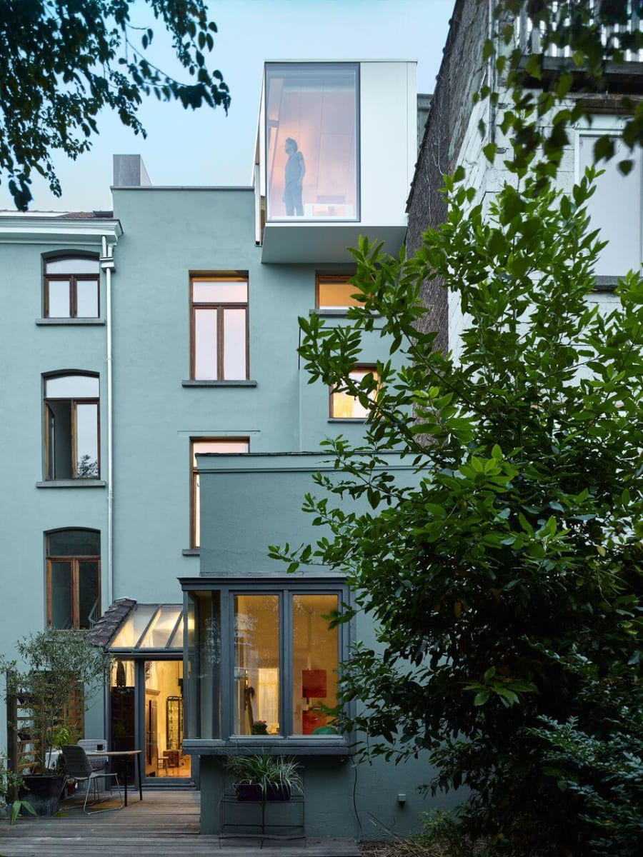 The Terraced Home in Brussels