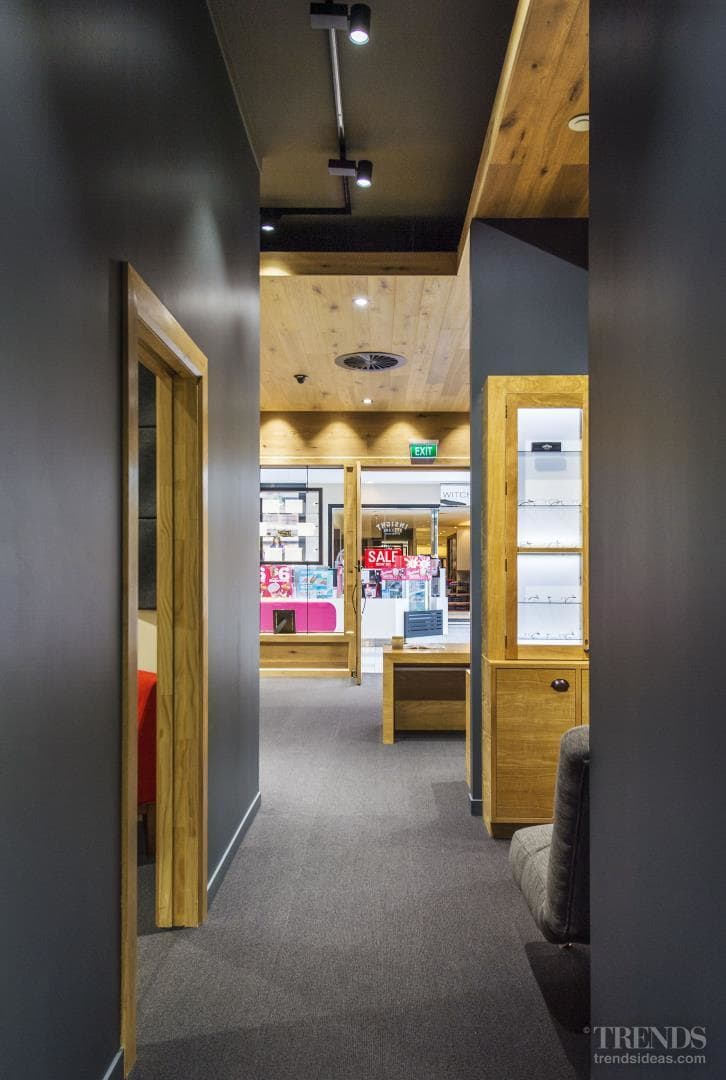 Dark Resene colours bring a modern touch to commercial premises