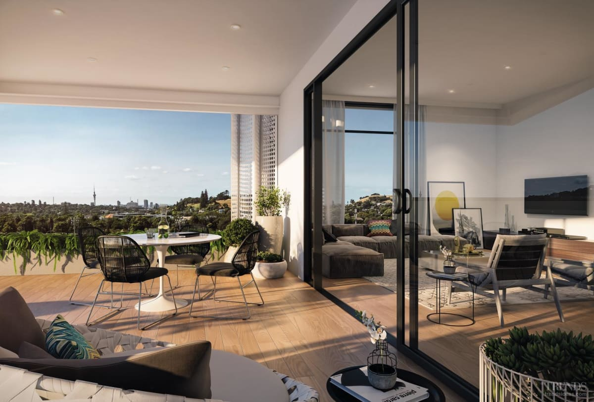 Auckland's Alexandra Park village offers apartments, retail, and restaurants