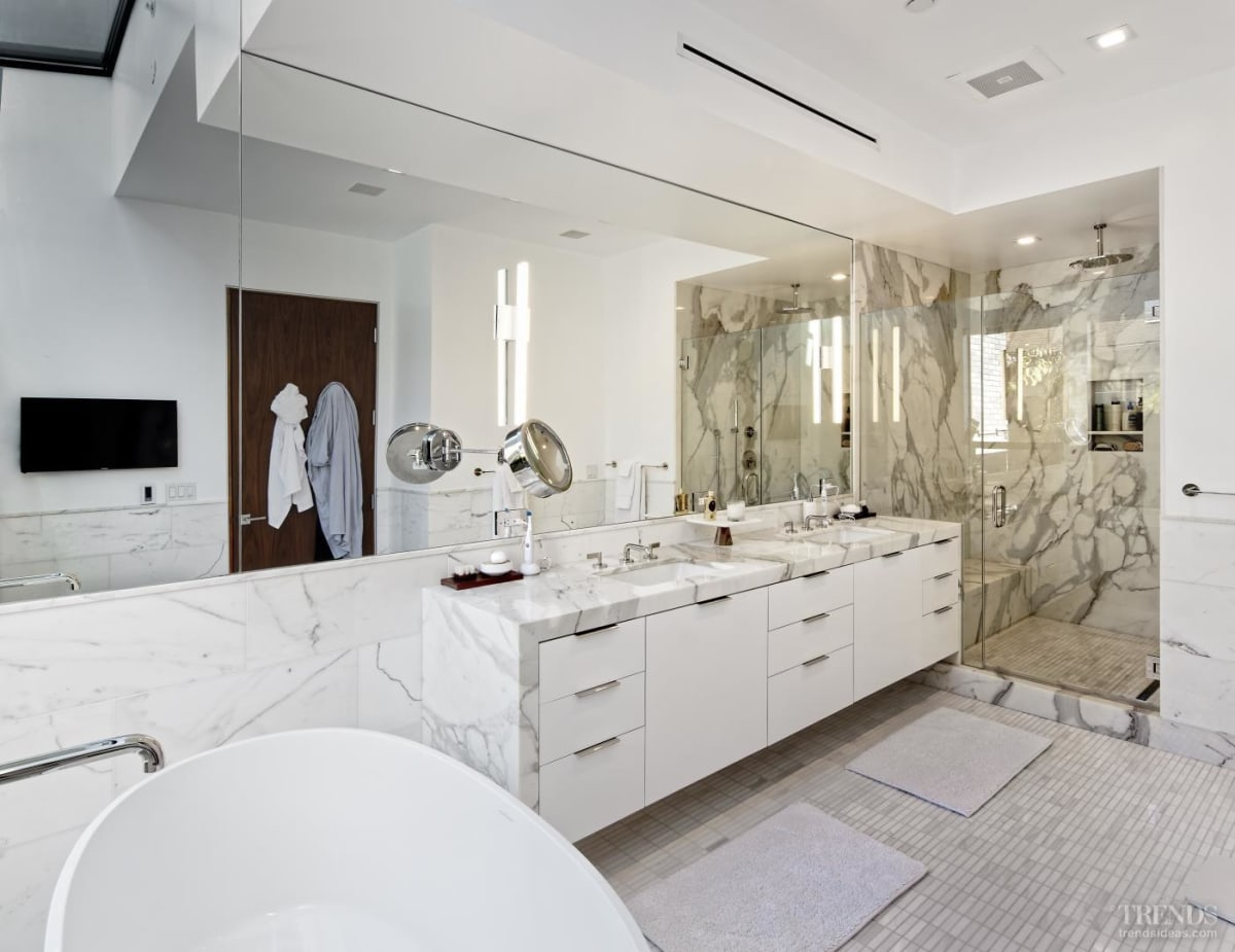 Bathroom design is an individual response to owners' needs and lifestyle