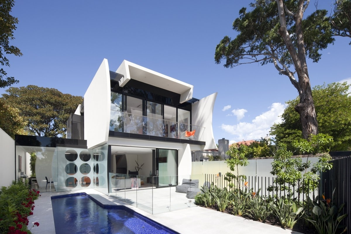 Owner architect Robert Puksand describes his new home as a 'non-house'