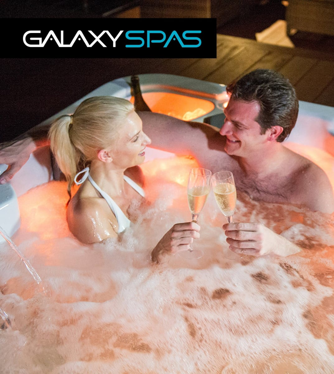 Discover a World That's Yours with Galaxy Spas