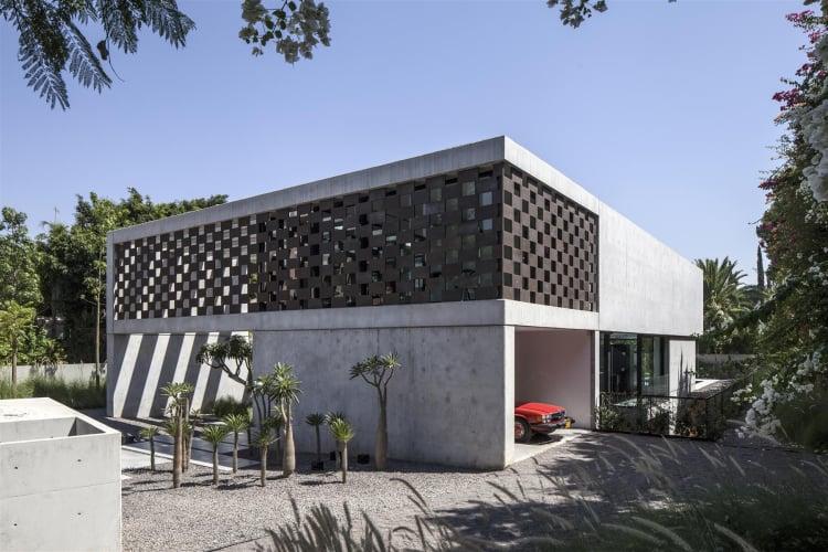 The Corten House