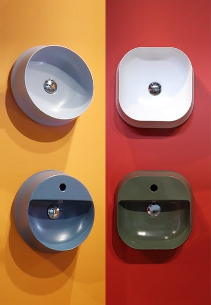 SHARP vanity basins collections – the family grows and wins ADI CERAMICS DESIGN AWARD 2016