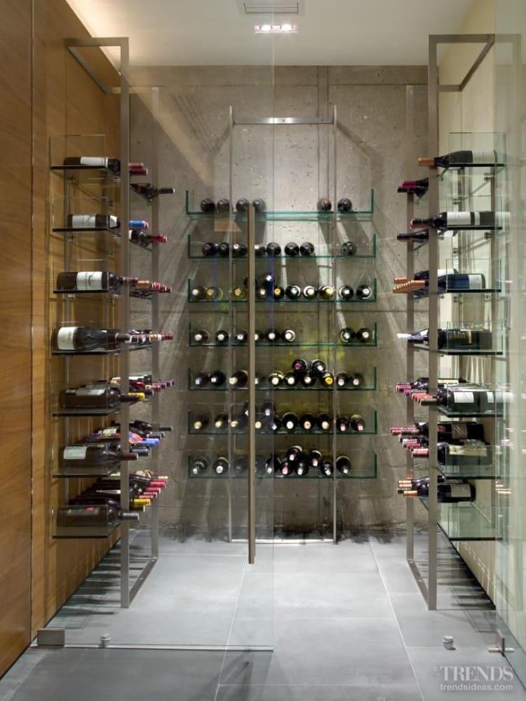 Contemporary Wine Storage