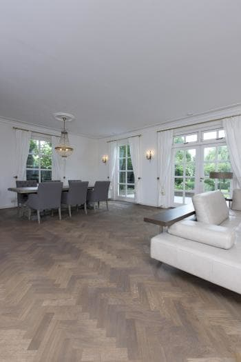 Oiled Oak Parquet Floor