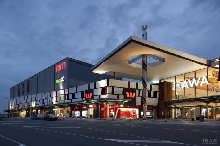 Te Awa retail mall reflects local iwi identity