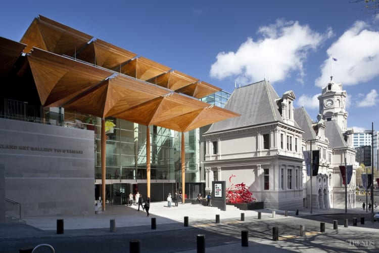 Open to view - The Auckland Art Gallery engages with the urban landscape