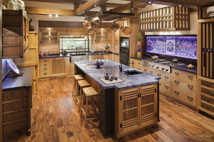 Eastern treasure trove traditional japanese kitchen by for Traditional japanese kitchen