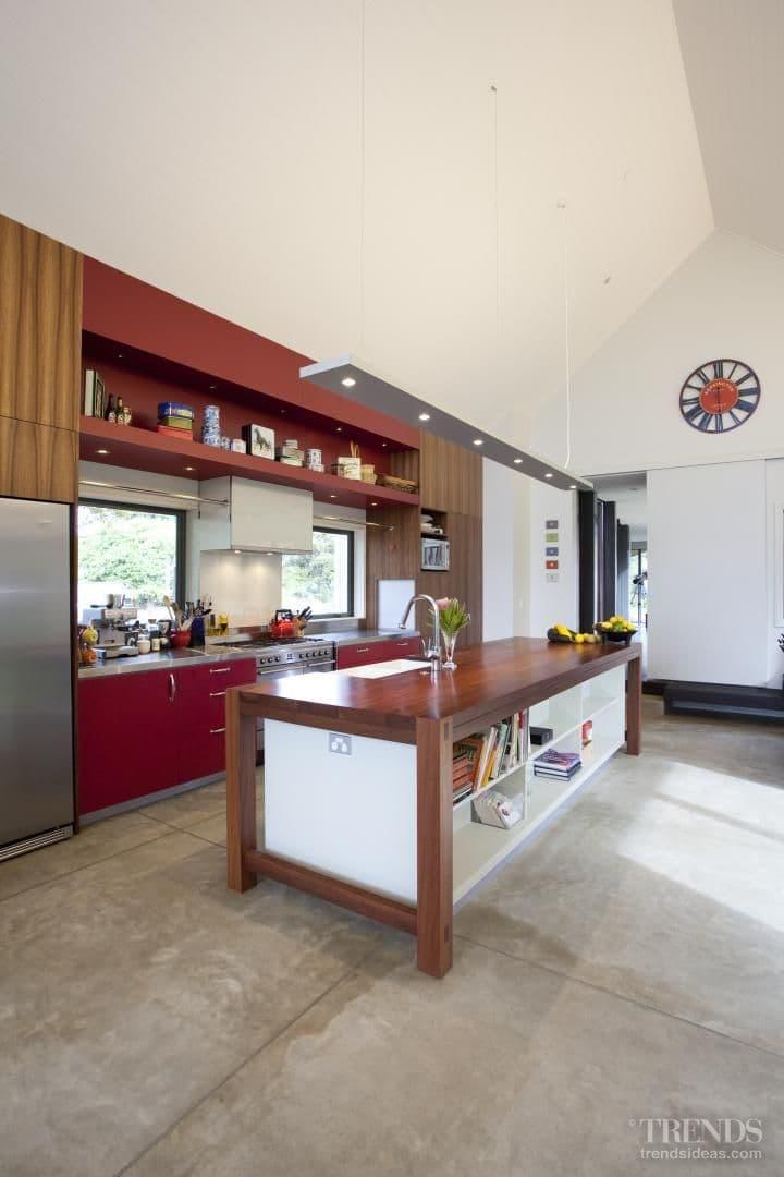 Army barracks inspire kitchen design
