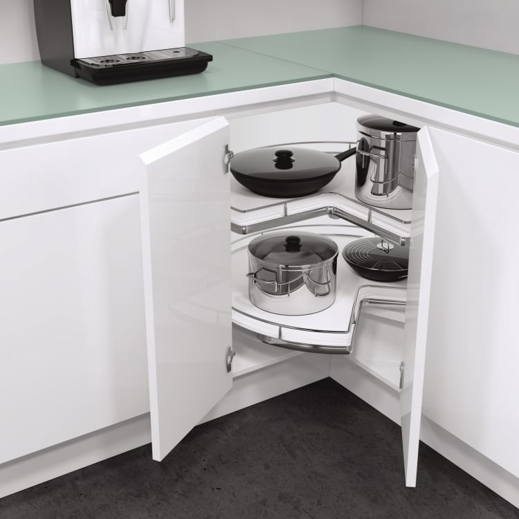 Vauth-Sagel Corner The Market! Convenient L-Shaped Corner Storage