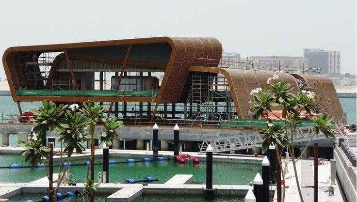 Ruby's Overwater Restaurant in Abu Dhabi