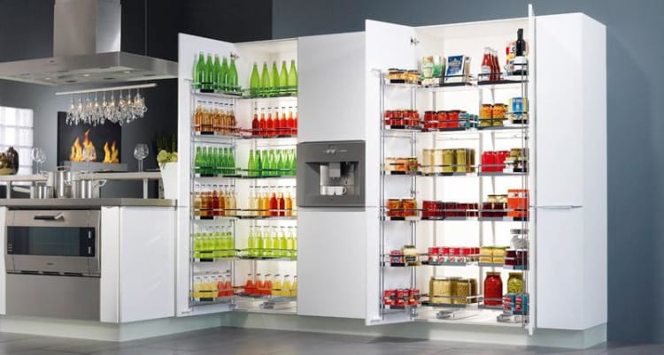 Tandem Kitchen Storage Pantries