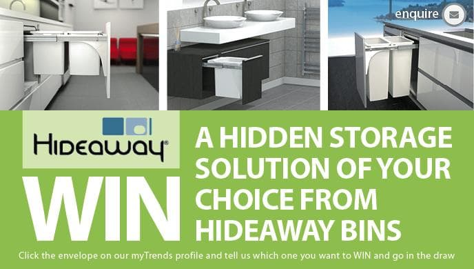 WIN A HIDDEN STORAGE SOLUTION OF YOUR CHOICE! - ENTRIES CLOSED