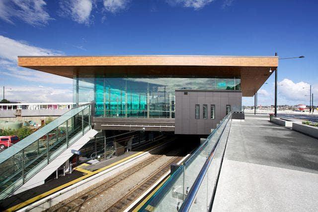 Laminam Exteriors - Panmure Train Station
