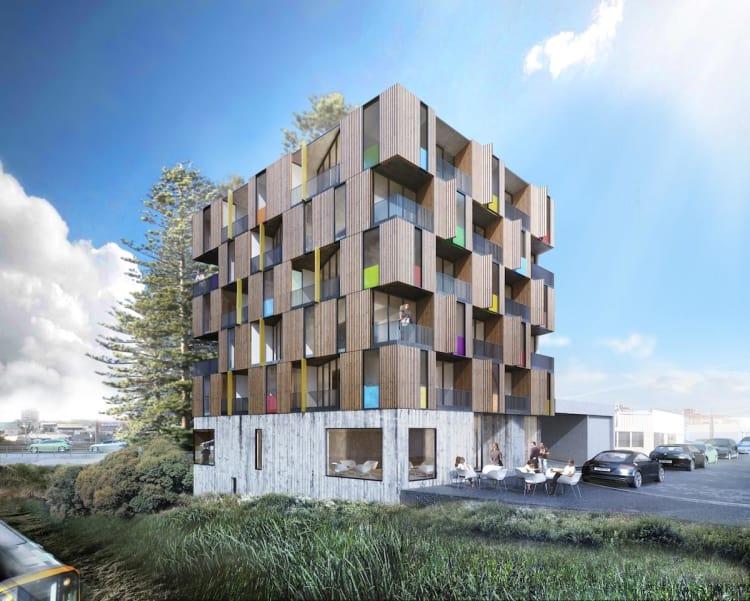 S3 Architects Wins Mt Eden Apartment Building Design Competition
