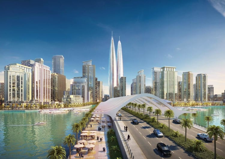Dubai Twin Towers To Be World's Tallest