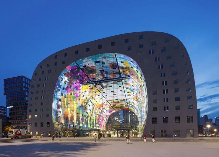 Markthal Rotterdam Market Hall & Residential Building