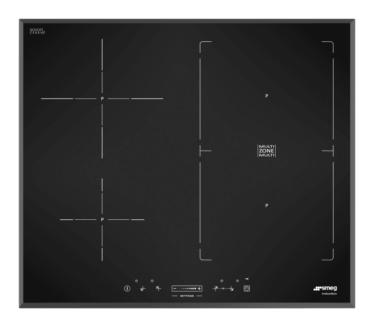 New Smeg induction cooktops