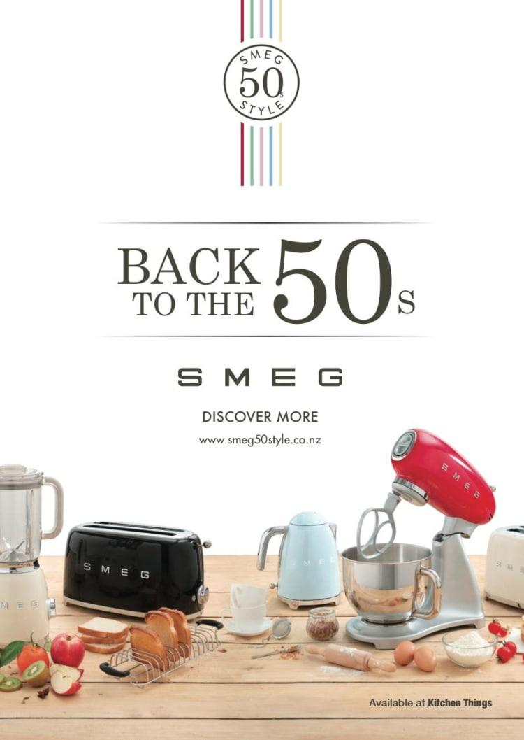 Smeg 50's Retro Style Small Appliances