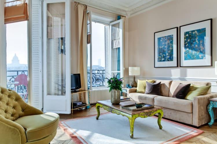 Four Beautiful Paris Homes