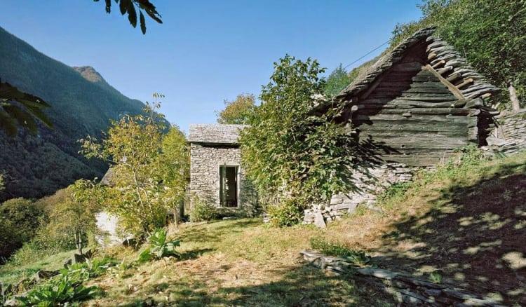 Modern Stone Cottage stone cottage with suprisingly modern interior renovation