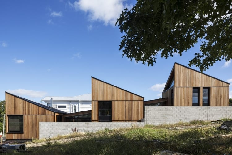 E-shaped House
