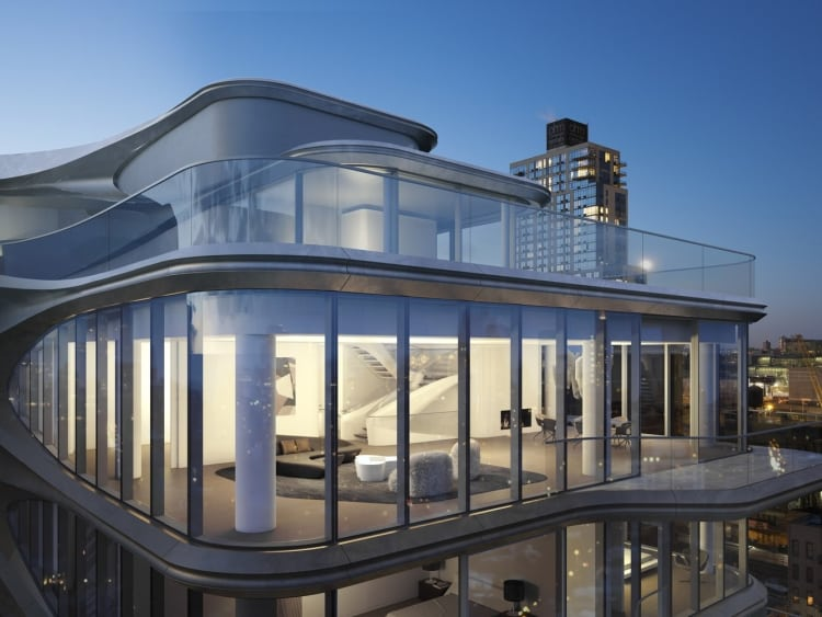 Zaha Hadid-Designed $50 Million Penthouse